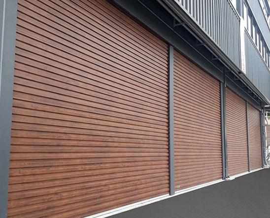 zincalume roller door roller shutter door