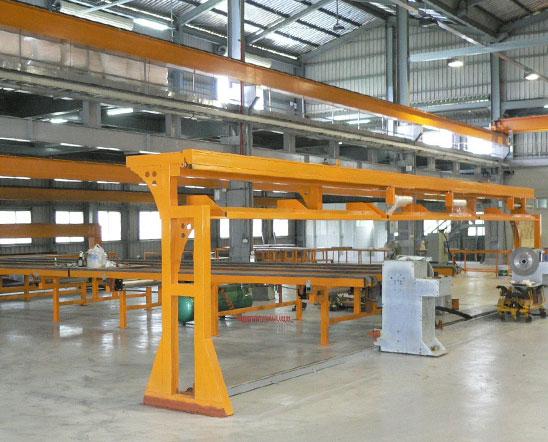 roller door equipment factory production line