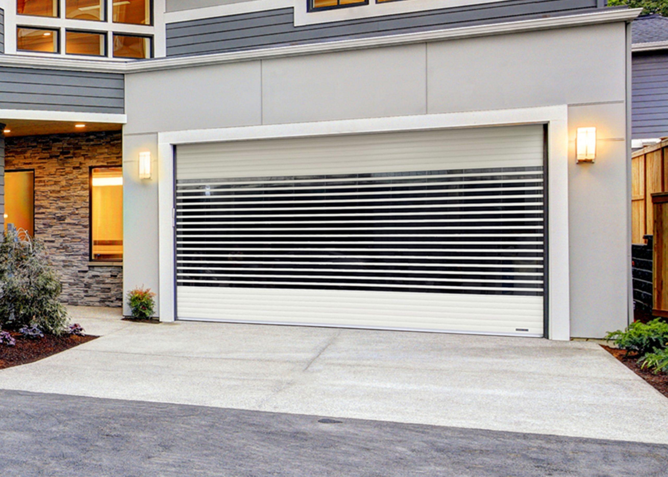 polycarbonate aluminum roller door