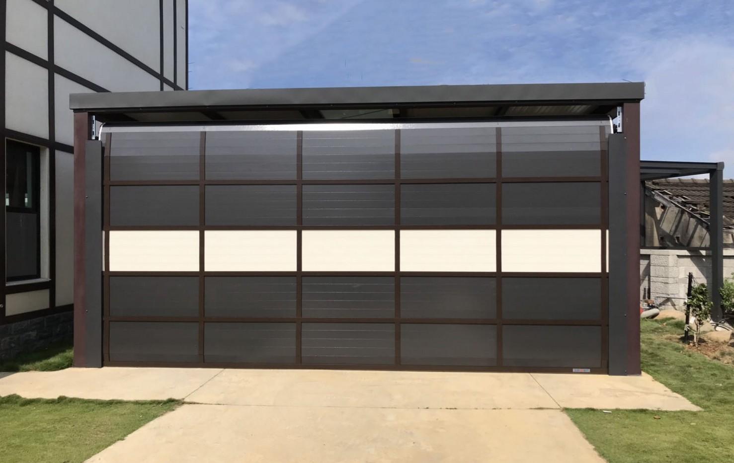 3D flat aluminum roller door roller shutter door