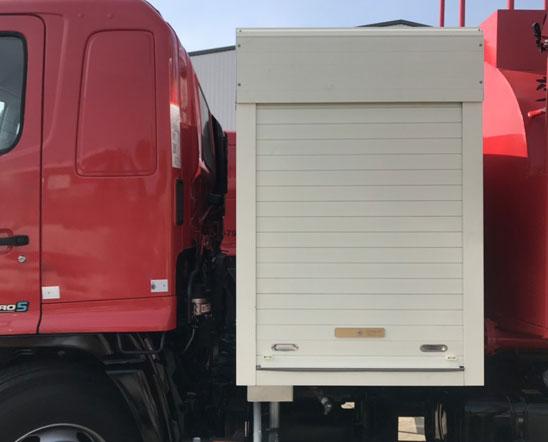 manual aluminum roller shutter roll up door for vehicles